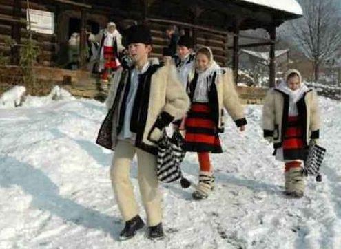 Sarbatorile de iarna la romani